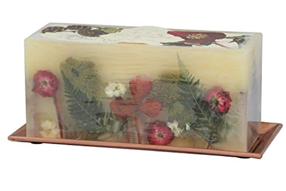 逸脱一杯落とし穴Rosy Rings 3 WickレンガBotanical Candle – オークモス& Myrrh