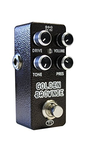 XVIVE エフェクター T1 GOLDEN BROWNIE DISTORTION  XV-T1  ACアダプタ別売