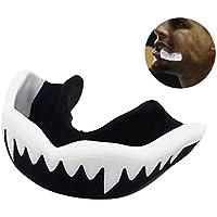 RUNACC运动护歯保护体は、人体制歯安全保护器のバスケットボール、空手、muay、サッカー、黒と白。