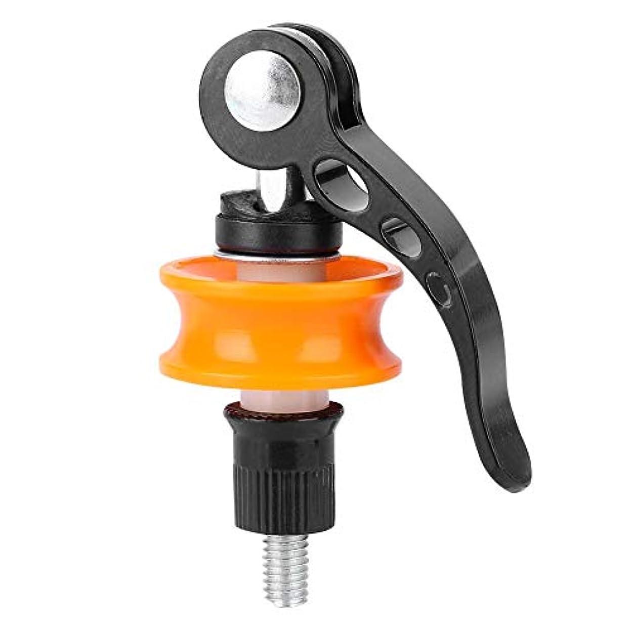 アレンジ創造偶然の自転車チェーンキーパーの修理ツールクイックリリースプロテクター自転車ホイールホルダー 自転車用アクセサリー