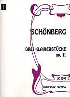 3 Klavierstuecke: op. 11. fuer Klavier.
