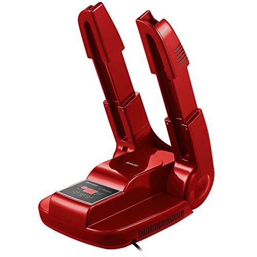 Rakuka くつ乾燥機 智能予約機能 可伸縮 オゾン抗菌・消臭機能付き シューズドライヤー PSE認証済み 各種類のシューズに対応 長靴 スニーカー 革靴 (レッド)