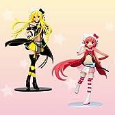 ハローキティといっしょ! フィギュア かわいい キャラクター グッズ プライズ フリュー(全2種フルセット)