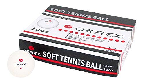 サクライ貿易(SAKURAI) CALFLEX(カルフレックス) テニス ソフトテニス ボール 1ダース 12球 CLB-4012