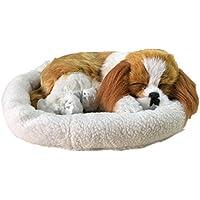 居眠り犬 リアルぬいぐるみ 本物そっくり パーフェクト プレゼント/イベント/お祝い ふわふわ 可愛い