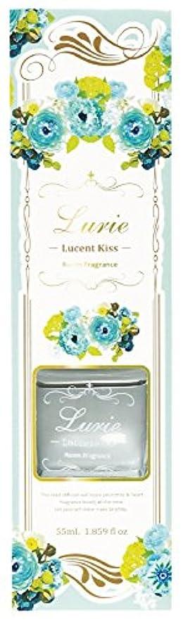 芸術見落とす拍手ノルコーポレーション リードディフューザー ルーリィ フローラルの香り ルーセントキス 55ml OA-LRF-1-2