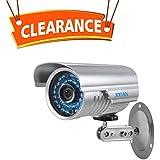 Security Camera, JOOAN 1000TVL CCTV Camera Indoor/Outdoor Waterproof Bullet Surveillance Cameras with 42-IR-LEDs for Night Vision - Video Surveillance Equipment