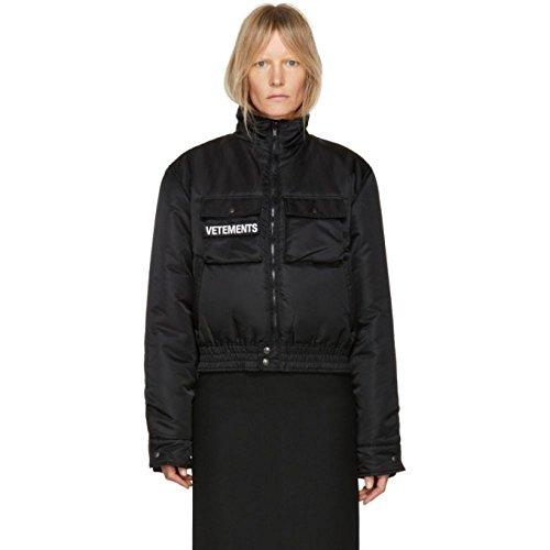 (ヴェトモン) Vetements レディース アウター ブルゾン Reversible Black Police Woman Bomber Jacket [並行輸入品]