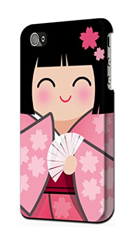 JP3042IP5SE 雛人形 着物桜 Japan Girl...