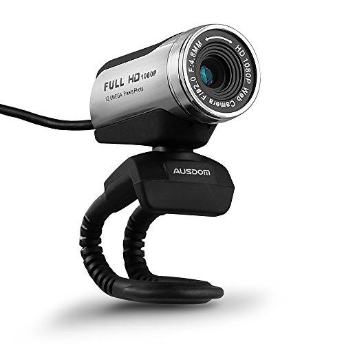 AUSDOM ウェブカメラ FullHD(1080P)画質 ウ...