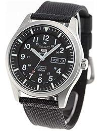 [セイコー]SEIKO 5 SPORTS 腕時計 自動巻き メカニカル ブラック文字盤 日本製 SNZG15J1(SNZG15JC)メンズ [逆輸入品]
