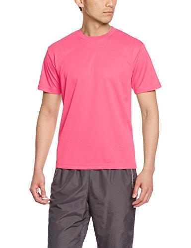 半袖 4.4oz ドライTシャツ(クルーネック) 00300-ACT 049 蛍光ピンク S (日本サイズS相当)