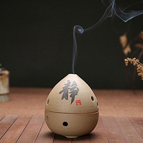 中国ハンドメイドガラス陶器Buddha ...