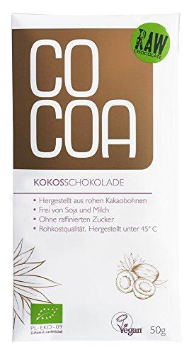 COCOA オーガニックココナッツ・ローチョコレート 50g
