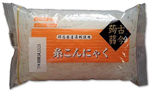 白滝 糸こんにゃく しらたき 20個セット 国産原料 肉じゃが すき焼き 鍋に