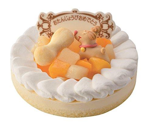 ワンちゃん用 記念日 誕生日ケーキ レアチーズ(プレート付)...