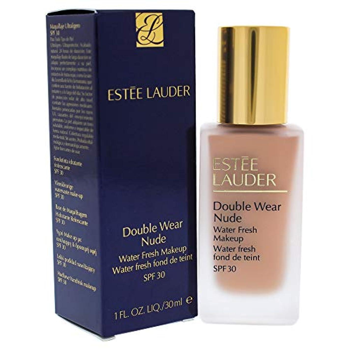 会話等々解明するエスティローダー Double Wear Nude Water Fresh Makeup SPF 30 - # 4C1 Outdoor Beige 30ml/1oz並行輸入品