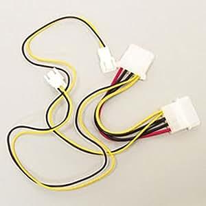 アイネックス ファン用電源ケーブル 2台用 CA-03WA