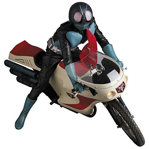 RAH リアルアクションヒーローズ No.782 仮面ライダー旧1号 & サイクロン号 究極版セット 全高約300mm 塗装済み アクションフィギュア