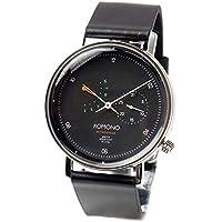 コモノ KOMONO Walther クオーツ ユニセックス 腕時計 KOM-W4030 ブラック [並行輸入品]
