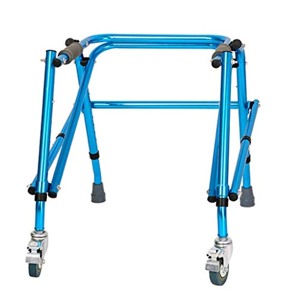 概してピジンブルームYxsd 子供下肢トレーニングとリハビリテーション機器/立ち歩行スタンド/ウォークエイド/ウォーカー/スタンドフレーム付きホイールリハビリ機器