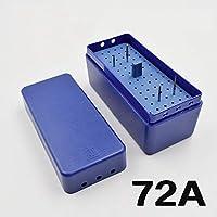 CAPRICOS 1PC歯科用バー72個の孔オートクレーブエンドボックス、リーマおよびグッタペルカ点歯内箱エンドホルダー高品質:72A