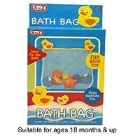 A to Z Bath Storage Net and 1 Toy Whale kids toy by Padgett Bros