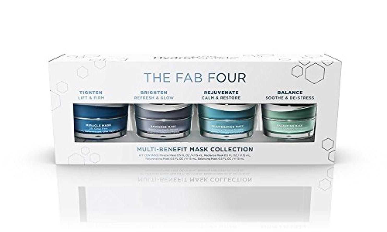 合金からに変化するダウンタウンハイドロペプチド The Fab Four Multi-Benefit Mask Collection: Miracle Mask + Radiance Mask + Rejuvenating Mask + Balancing...