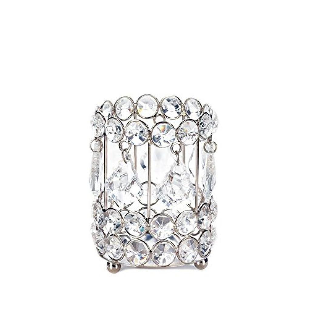 手紙を書く誰か告白Gallery of Light 10018136 Super Bling Crystal Drops Candle Holder - 4 in.