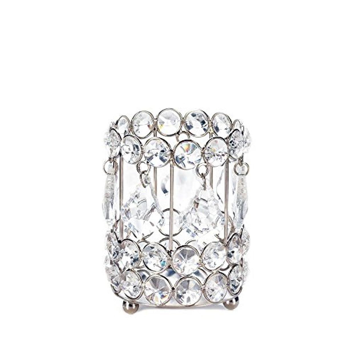 代名詞関数なしでGallery of Light 10018136 Super Bling Crystal Drops Candle Holder - 4 in.