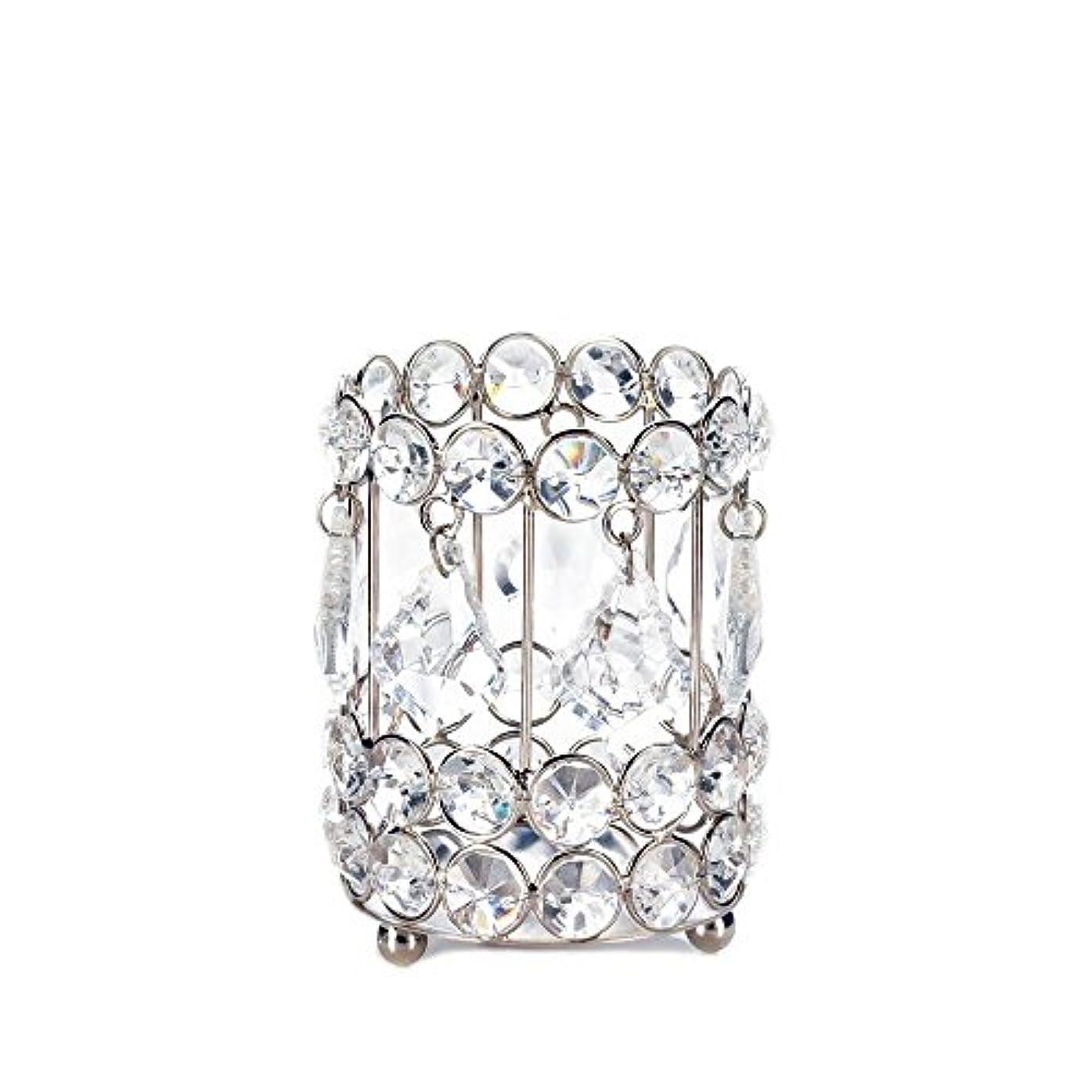 道路を作るプロセス人差し指驚くばかりGallery of Light 10018136 Super Bling Crystal Drops Candle Holder - 4 in.