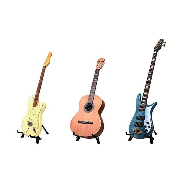 KC コンパクトギタースタンド 折りたたみ式 ...の紹介画像3