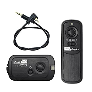 PIXEL RW-221/E3 2.4GHz 16チャンネル コンパクト ラジオ電波式 カメラ ワイヤレス レリーズ シャッター リモコンcanon EOS 1300D 1200D 1100D 1000D 800D 760D 750D 700D 650D 600D 550D 450D 400D 350D 300D 100D 60D 70D 80D 77D P0WERSHOT G10 G11 G12 G15 G16 G1X G3X G1XII SX50 SX50HS SX60HSなどに対応 カメラ用 リモートコントローラー