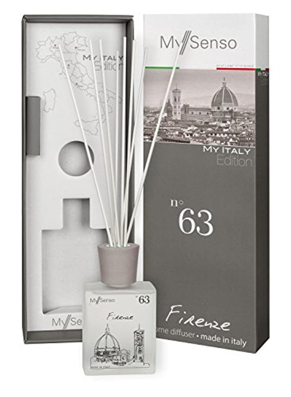 健全水銀のスロットMySenso ディフューザー My Italy Edition No.63 フィレンツェ