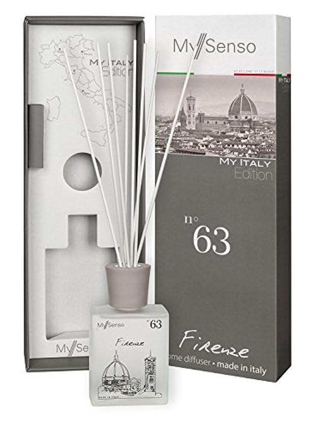 貫入安定出血MySenso ディフューザー My Italy Edition No.63 フィレンツェ