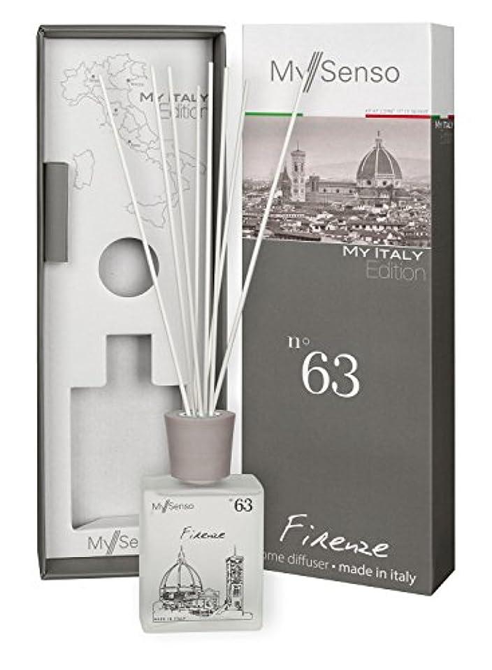 はっきりとショートカット新しい意味MySenso ディフューザー My Italy Edition No.63 フィレンツェ