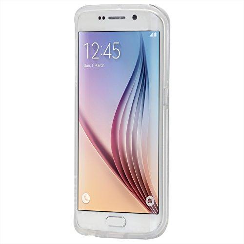 【透明2層構造】Case-Mate 日本正規品 Galaxy S6 edge docomo SC-04G / au SCV31 Hybrid Tough Naked Case, Clear / Clear ハイブリッド タフ ネイキッド ケース CM032404