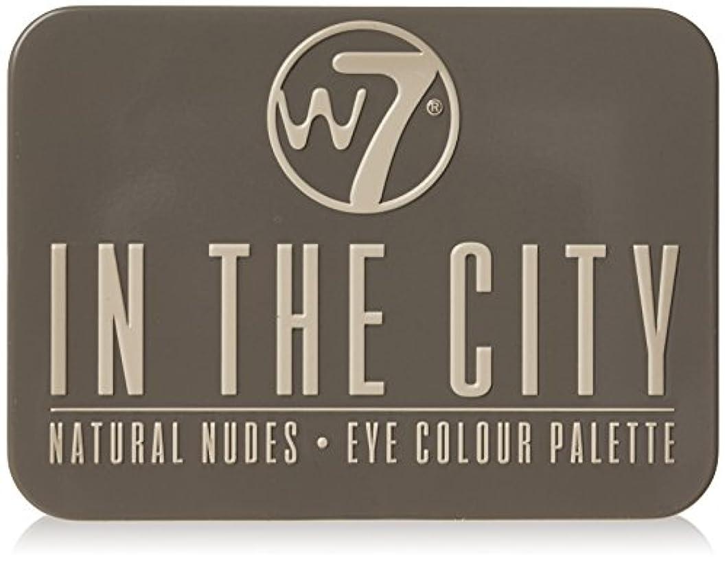 ワードローブ選択するアシスタントW7 In The City Natural Nudes Eye Colour Palette (並行輸入品)