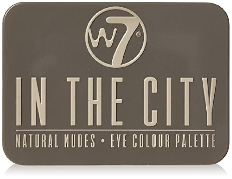 レルムトリッキーオンW7 In The City Natural Nudes Eye Colour Palette (並行輸入品)