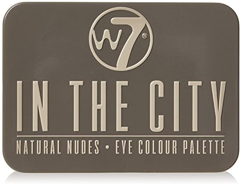 副詞一次ベッドを作るW7 In The City Natural Nudes Eye Colour Palette (並行輸入品)