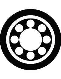 家紋シール 丸に九曜紋 布タイプ 直径40mm 6枚セット NS4-0502