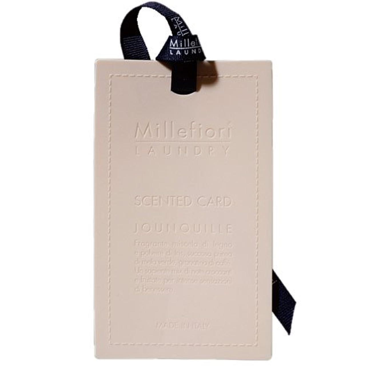 の配列公演水素Millefiori センテッドカード ナルシス CARD-A-001