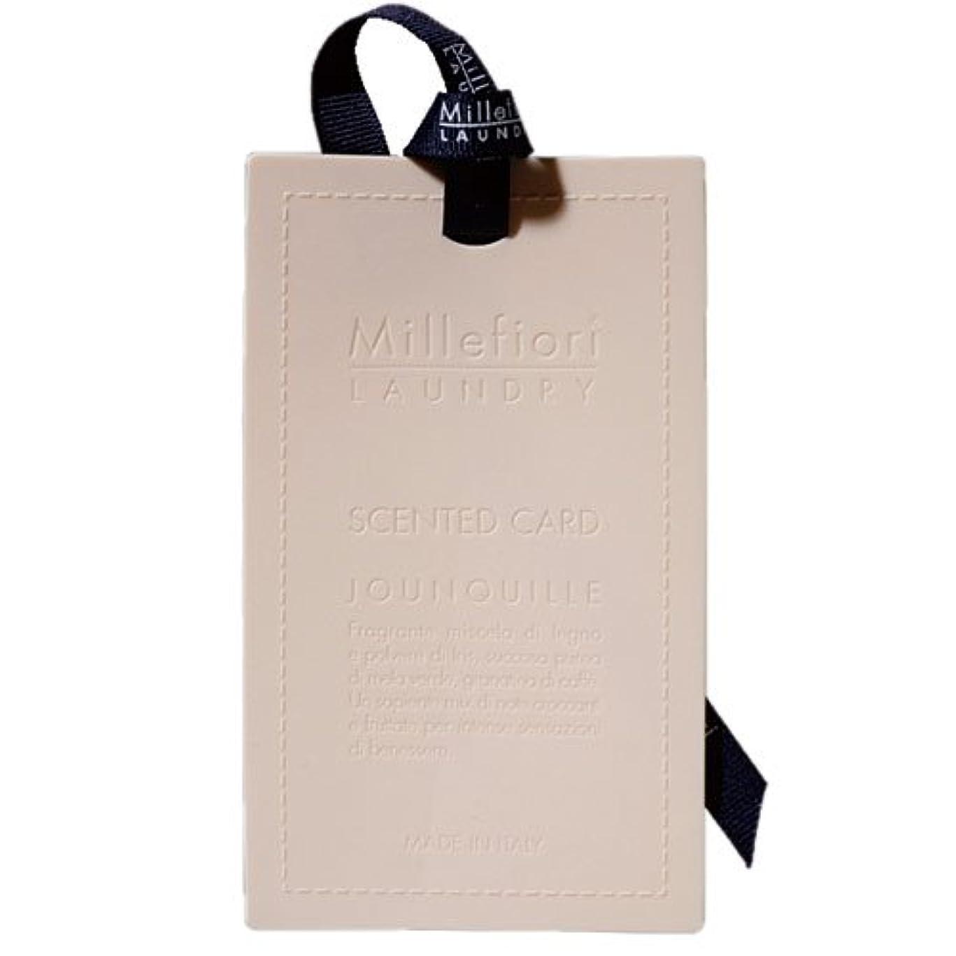 ピアノを弾く砂漠特徴Millefiori センテッドカード ナルシス CARD-A-001