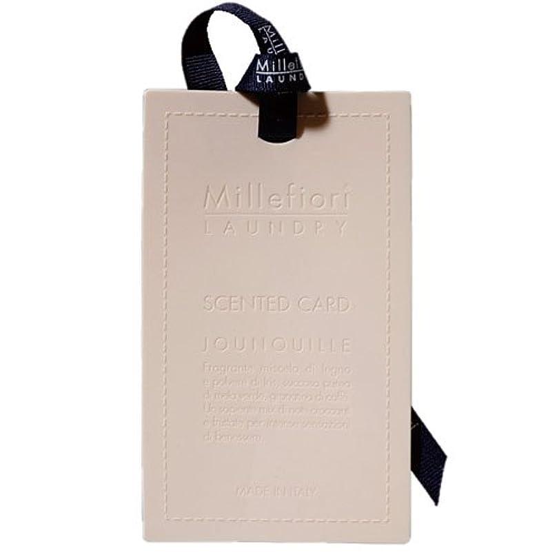 プロット季節誤解するMillefiori センテッドカード ナルシス CARD-A-001
