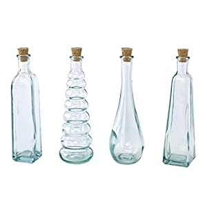 SPICE OF LIFE コルク蓋 ボトル4種セット AUTHENTIC GLASS 120ml ガラス VGLH1859