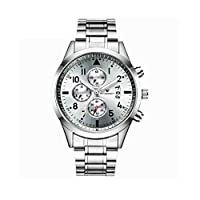 Moyouny 腕時計 メンズ腕時計 おしゃれ ビジネス ファッション カジュアル シンプル 防水 超薄型 ステンレスストラップ アナログクオーツ 時計 腕時計 人気 ミニマリスト 安い ギフト 0008