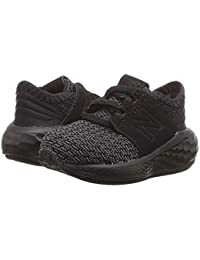[new balance(ニューバランス)] キッズサンダル?靴 KVCRZv2I Nubuck (Infant/Toddler) Black/Magnet 10 Toddler (17cm) W
