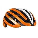 LAZER(レーザー) ヘルメット Z1 JCF公認 自転車用ヘルメット R2LA823588X マットフラッシュオレンジ/ホワイト L(58-61cm)