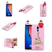 Huawei Mate 10 Lite シェル,バックケース バック カバー [スクラッチ/防塵の] スリム 合う 女の子 耐衝撃性 Rugged フル-ボディー 保護 カバー の Huawei Mate 10 Lite-Dark Pink