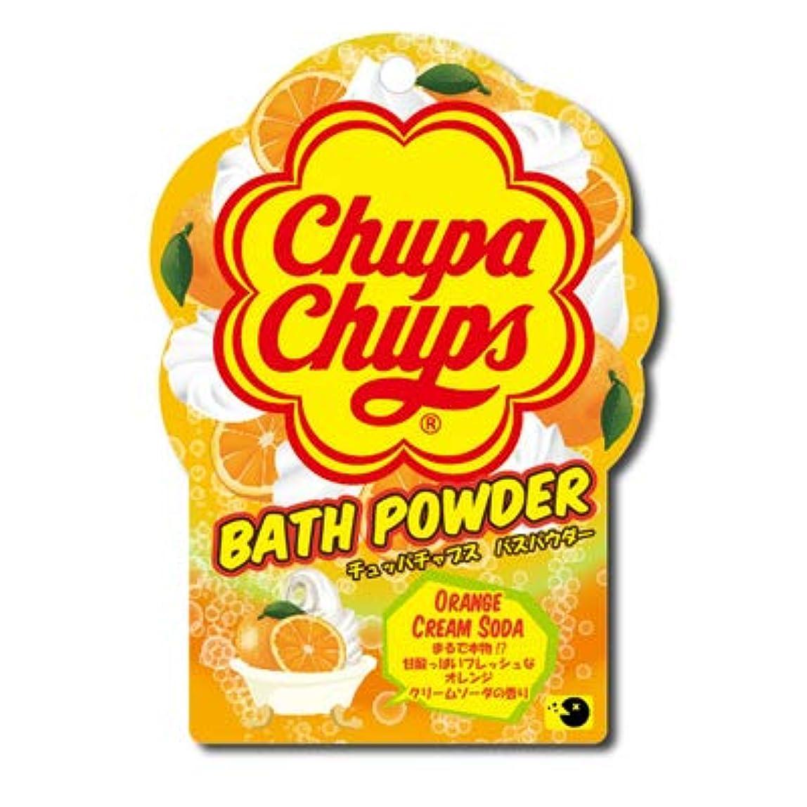 もつれ流体ペア【まとめ買い3個セット】 チュッパチャプスバスパウダー オレンジクリームソーダ